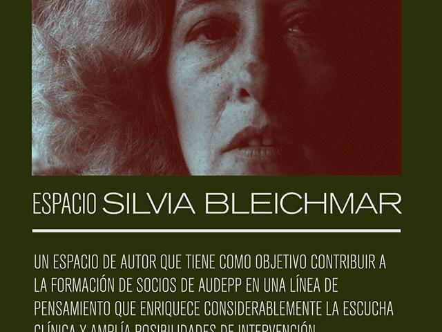 Espacio de autor: Silvia Bleichmar