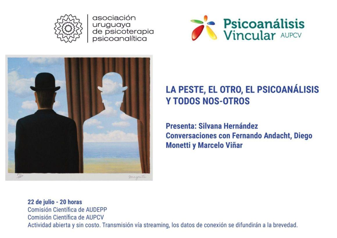 Actividad por streaming: «La peste, el otro, el psicoanálisis y todos nos-otros». 22 de julio a las 20.00 horas