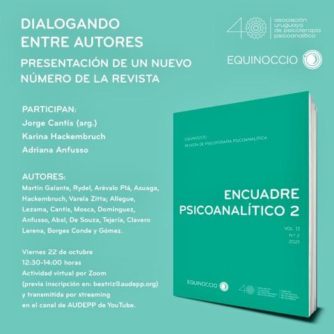Presentación de un nuevo número de la revista Equinoccio, vía Zoom (inscripción previa) y Streaming. Viernes 22 de octubre de 12.30 a 14.00 horas